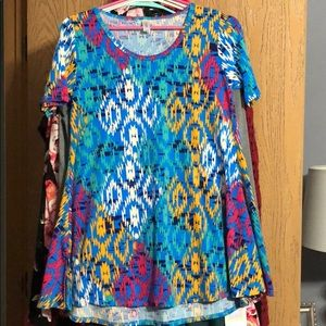 LuLaRoe Tops - 5 New LuLaRoe Perfect T XXS all new without tags!